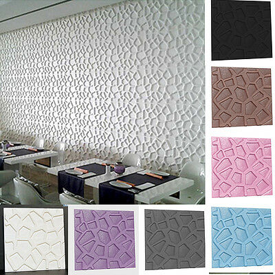 3D Mesh Series Removable Vinyl Home Room Decor Wall Decal Stickers Bedroom Mural