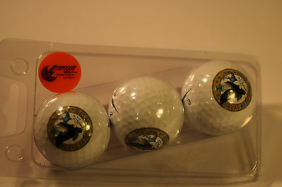 3X Military Insignia Golf Balls Naval Base Point Loma Nike Pd Long Balls Marker