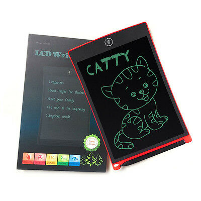 """8.5""""/12'' LCD Boogie Board Writing Drawing Tablet Pad eWriter Boards & Stylus"""