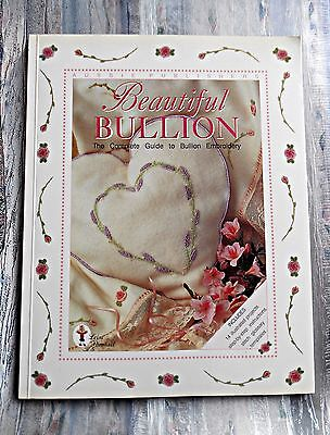 BEAUTIFUL  BULLION ~14 Projects & Templates by Leisa Pownall ~ 2000 SC Book ~ GC