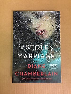 The Stolen Marriage by Diane Chamberlain ARC/proof  NEW  *free shipping*