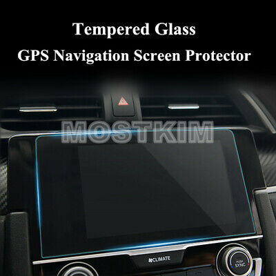 For Honda Civic Premium Tempered Glass GPS Navigation Screen Protector 2016-2017
