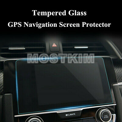 GPS Navigation Screen Protector For Honda Civic Premium Tempered Glass 2016-2019