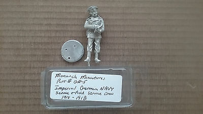 54mm scale Monarch Miniatures Imperial German Navy service & Field Service Dress
