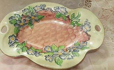 Maling Pink Lustre Oval Dish
