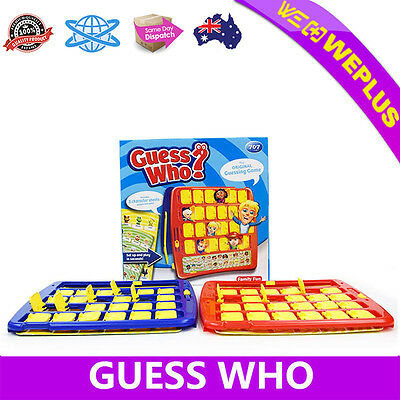 Guess Who Game Original Guessing Family Party Fun Kids Adults Board Toy Gifts