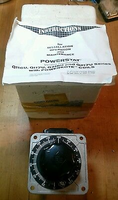 Superior Electric Powerstat Q216U 240V 3.5A Variable Autotransformer