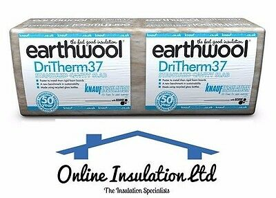 10 Packs Knauf Dritherm 37 Cavity Wall Insulation 100mm (6.55m2 / 12 Per Pack)