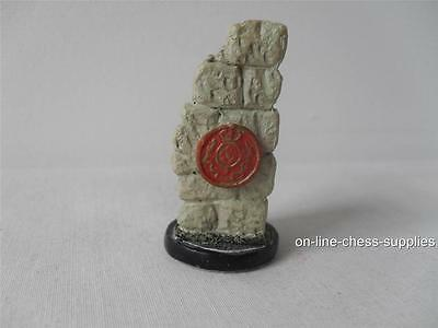 Hand painted Battle of Waterloo Spare Chess Piece British Rook *Used*