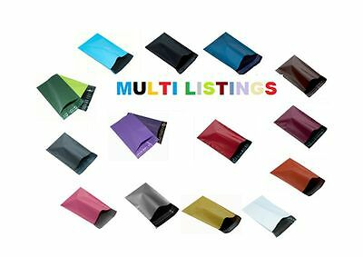 """4 x 7"""" - 120 x 170mm Mailing Bags All Colours & All Sizes"""