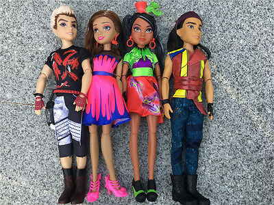 Descendants Neon Lights Ball Exclusive 4-Pack Jay Freddie Carlos & Audrey Loose