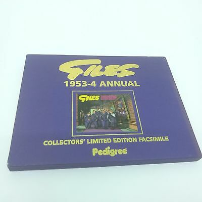 Giles 1953 Annual Collectors Limited Edition Facsimile Pedigree with certificate