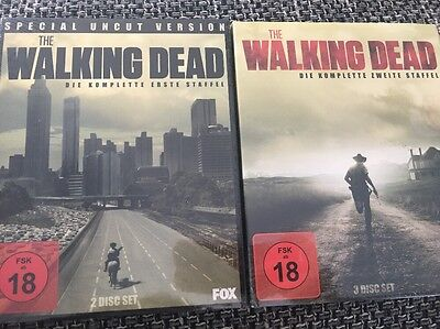 THE WALKING DEAD Staffel 1+2 Blu-ray NEU OVP