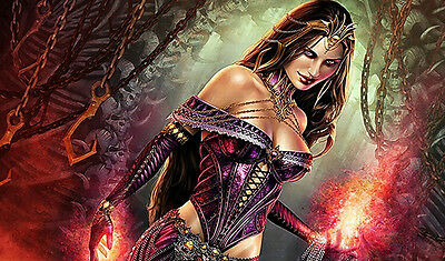 #46 Custom Playmat Liliana Of The Veil Play Mat TCG CCG Mat Work Mat Mouse Pad