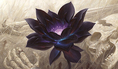 #47 Custom Playmat Black Lotus Play Mat TCG CCG Mat Work Mat Large Mouse Pad