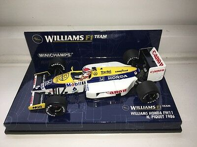 Nelson Piquet Williams FW11 1:43rd Scale Model