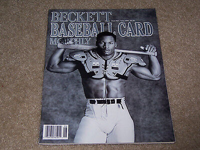 1990 Nike Bo Jackson Beckett Price Guide Nr/Mt Nice Clean Issue