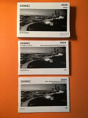 2014 GMC Sierra Owners Manual, 3 Book Set [03529]