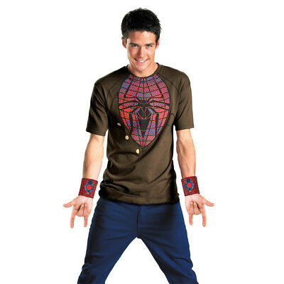 Amazing Spider-Man Alternative Costume T-Shirt & Web Shooters Adult