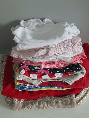 bundle of girls clothes age 6-9 months Great condition