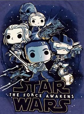 The Force Awakens Funko Smuggler's Bounty Exclusive Star Wars T-Shirt Large