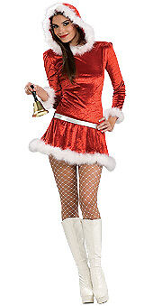 Adorable Christmas Caroler Adult Costume