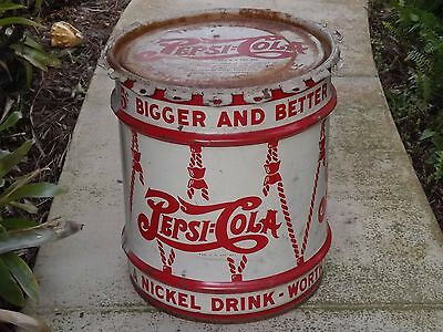 Pepsi Cola Company Porcilan Syrup Can Dated 1942