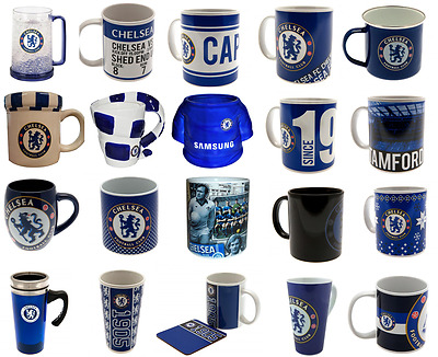 Chelsea FC Jumbo Mug Travel Mug Latte Tea Tub Cappuccino Christmas Birthday Gift