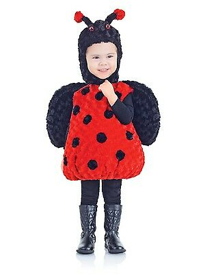 Belly Babies Lady Bug Costume Child Toddler X-Large 4-6