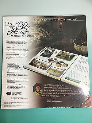 "Creative Memories 15 Page Protectors Old Style Non-True 12x12 12""x12"" Scrapbook"