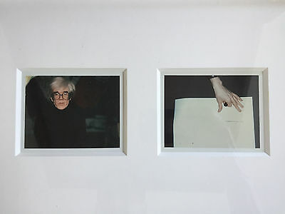 Andy Warhol - Self-Portrait in Fright Wig and Artist´s Hand (diptych), 1986