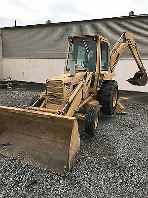 FORD Model 550 Tractor Loader Backhoe Rebuilt ONLY 240 HOURS!!!