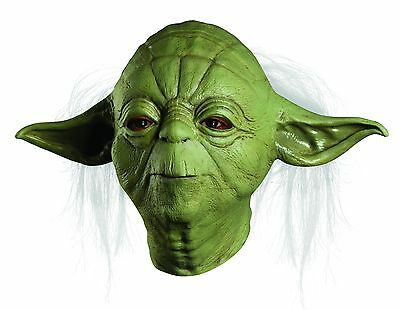 Star Wars Yoda Deluxe Overhead Costume Latex Mask Adult One Size