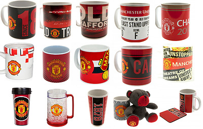 Manchester United Jumbo Travel Mug Latte Tea Tub Cappu Christmas Birthday Gift