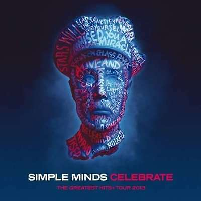 Simple Minds - Celebrate: The Greatest Hits Live + Tour 2013 NEW 2 x CD