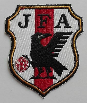 JAPAN JFA LOGO FIFA SOCCER WORLD CUP IRON-ON PATCH CREST BADGE n-288