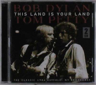 Bob Dylan And Tom Petty - This Land Is Your Land NEW 2 x CD