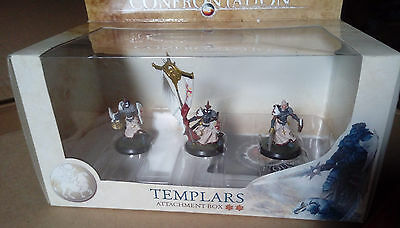 Rare OOP Confrontation 4 - Templars Attachment Box