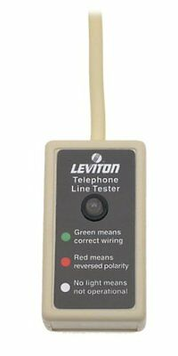 Leviton Telephone Line Tester Model 830-C2443 New in package