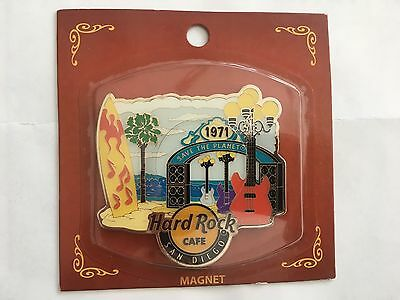 Hard Rock Cafe San Diego City Scenes / City tee Magnet NWT