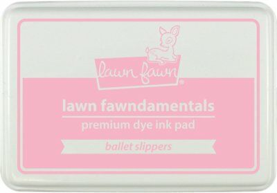 Lawn Fawn Inks - Ballet Slippers Dye Ink Pad LF1386 - NEW 2017 Release