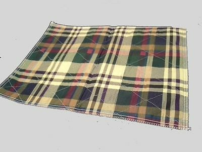 4 34x36 Plaid Reusable Washable Pet Dog Cat Puppy Wee Wee Potty Training Pad