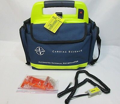 Cardiac Science Powerheart AED 9200RD + Lots of Accessories