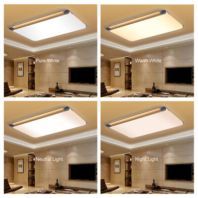 64W LED Dimmerabile Lampada da Soffitto Luce Plafoniera Sala Telecomando 65CM IT