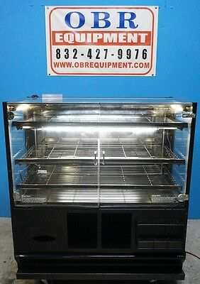 "48"" Dry Bakery Display Case With Lights"