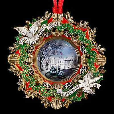The White House Historical Association Ornament - Woodrow Wilson - 2013