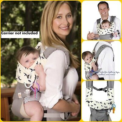 Drool Teething Pad ORIGINAL 3 Pcs Set For Ergobaby 360 Baby Infant Carrier