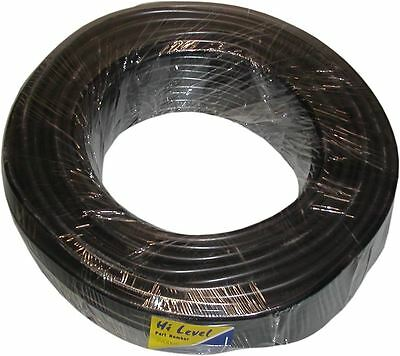 Motorcycle, HT Lead, Black, 30 Metres, Copper Core, 7mm, Universal,Motorbike,