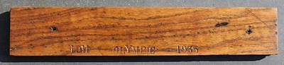 "White Star Line Rms Olympic Reclaimed 15"" X 3"" Wood Decking Haltwhistle 1911"