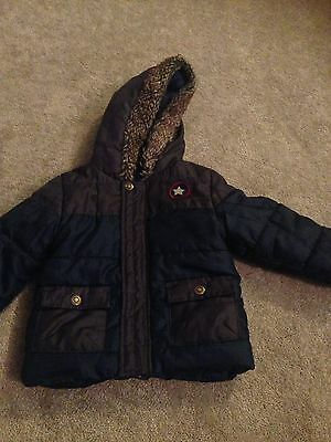 Nutmeg Boys Coat Age 12-18 Months